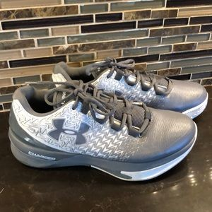 Under Armour Drive charged ClutchFit gray sneakers